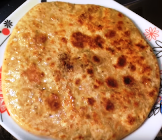 Soybean Paratha Recipe - Soya Chunks Paratha Recipe -  How to Make Soyabean Paratha at Home