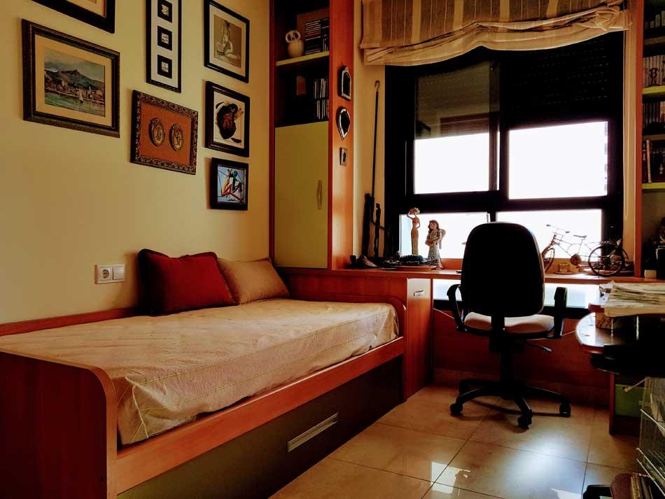piso en venta zona sensal castellon dormitorio