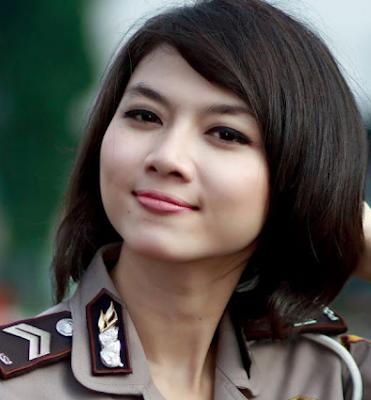 polwan indonesia paling cantik dan seksi