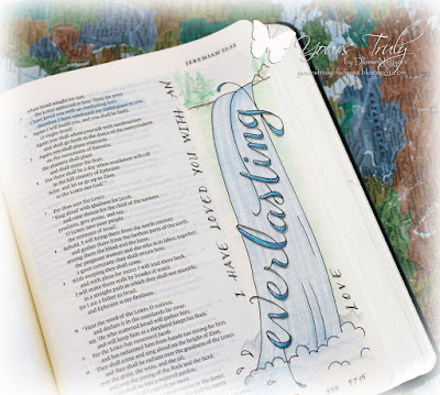 Diana Nguyen, Bible Journaling, Illustrated Faith, Jeremiah