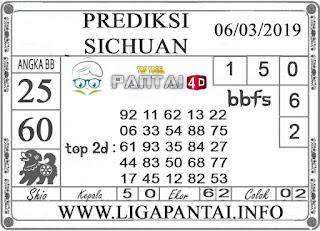 """Prediksi Togel """"SICHUAN"""" PANTAI4D 06 MARET 2019"""