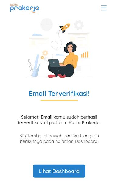 email untuk daftar kartu prakerja; tomatalikuang.com