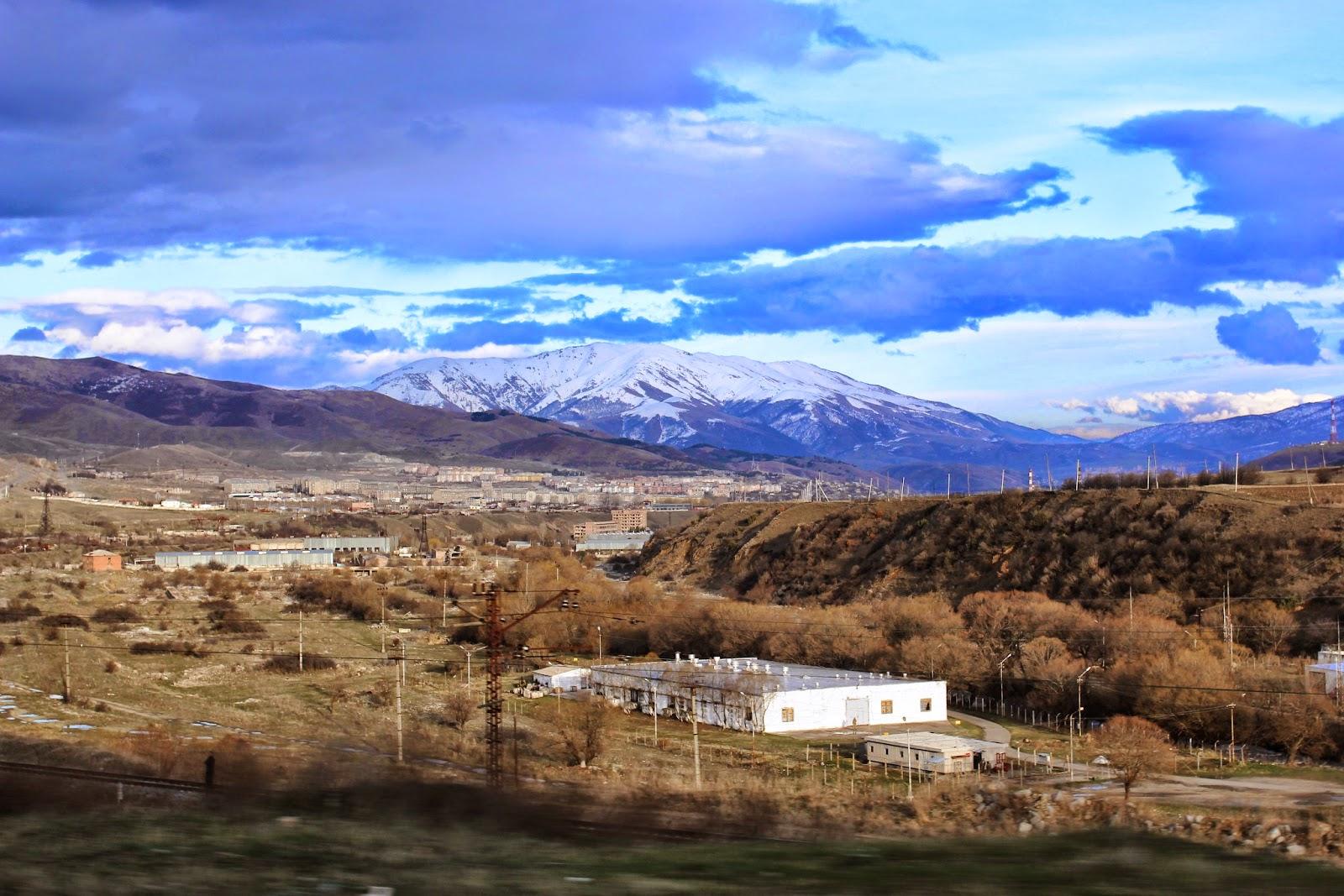 Armenia droga do Erywania
