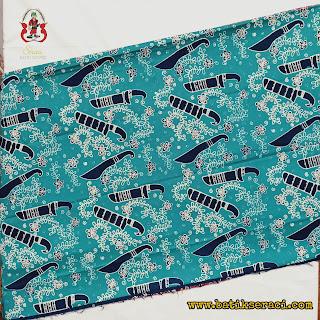 batik cap motif Golok Betawi koleksi Batik Seraci