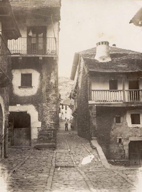 Casa Orná y Carrera Arrigo, Ansó, Ramón Borra