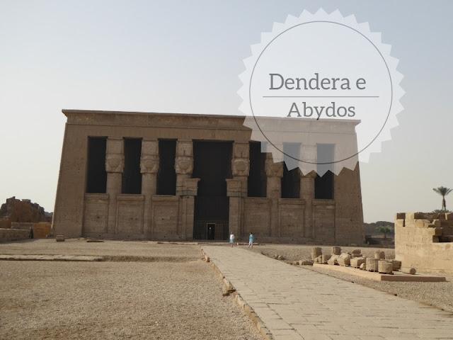 Escursioni da Luxor: Dendera e Abydos. Il colonnato del tempio di Dendera