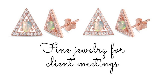 Jewelry for CLIENT MEETINGS