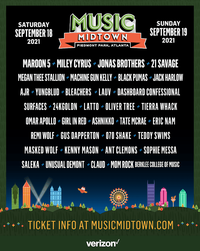 Music Midtown to require vaccinations or negative virus test
