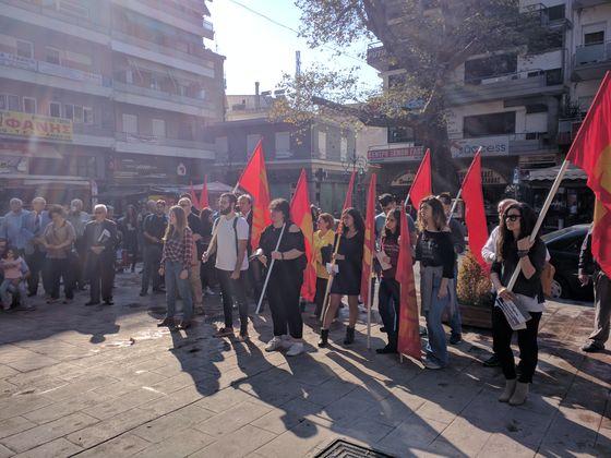 Λαμία 18 Οκτώβρη 2019: Παράρτημα Λαμίας της ΠΕΑΕΑ – ΔΣΕ χαιρετίζουμε τη σημερινή επέτειο