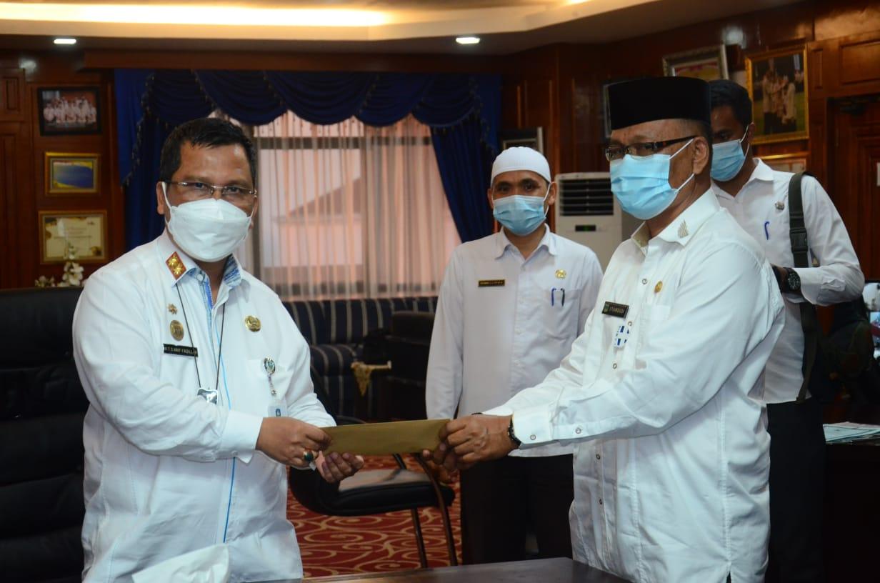 Plh Gubernur Kepri Tunjuk Syamsudi Sebagai Plh Bupati Lingga