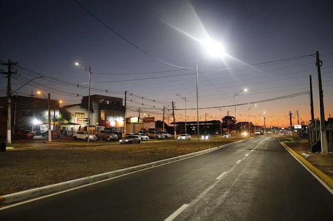 Prefeitura de Gravataí inaugura duplicação da Avenida Ely Corrêa, alça de retorno da Prometeon e iluminação de LED