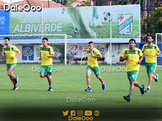 Oscar ribera, Alan Mercado, Cleider Alzáte, Carlos Roca y Yendrick Ruiz se entrenaron por separados - Oriente Petrolero - DaleOoo