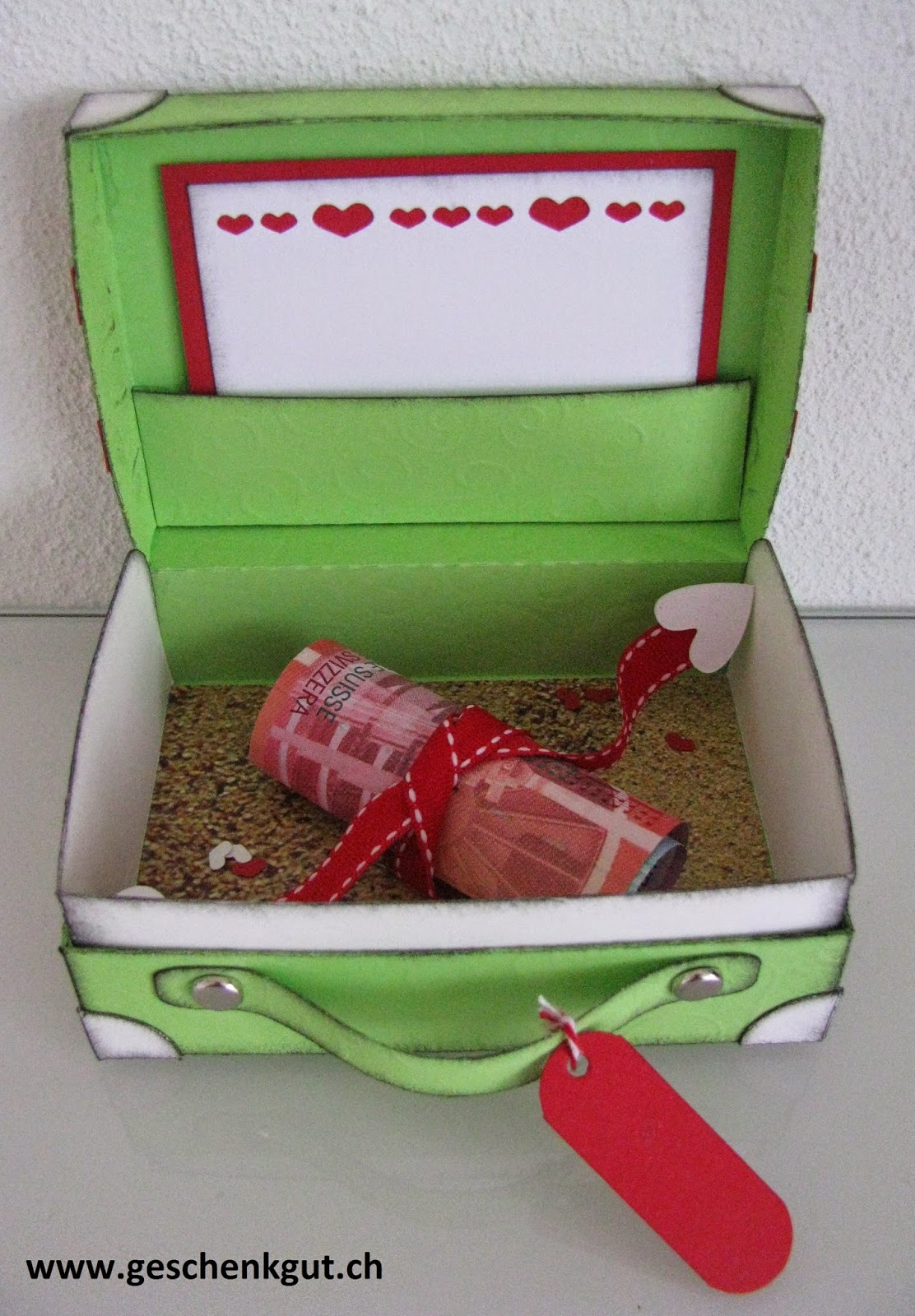 Hochzeitsgeschenk Geldgeschenk Hochzeit Hochzeitsreise Koffer Strand