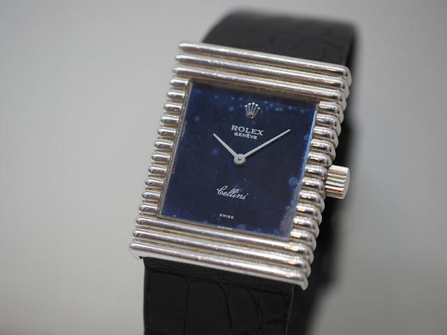 ロレックスチェリーニ ヴィンテージ腕時計を買い取りしました