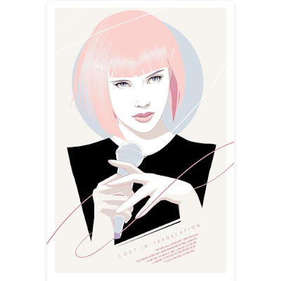 Designer Con 2018 Exclusive Lost In Translation Movie Poster Screen Print by Craig Drake x Spoke Art