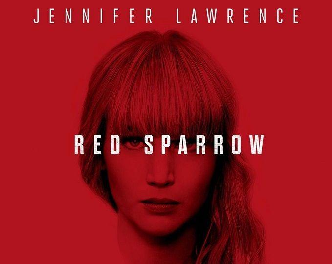 لورينس في فيلم العصفور الأحمر Red Sparrow