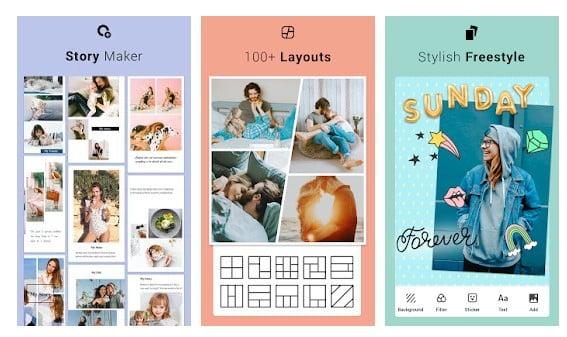 10 Aplikasi Kolase Foto (Photo Collage) Terbaik di Android - Aplikasi Kolase Foto Kekinian Collage Maker