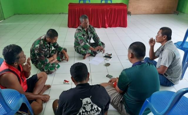 Koordinasi Antar Anggota Satgas TMMD Terus Dilakukan