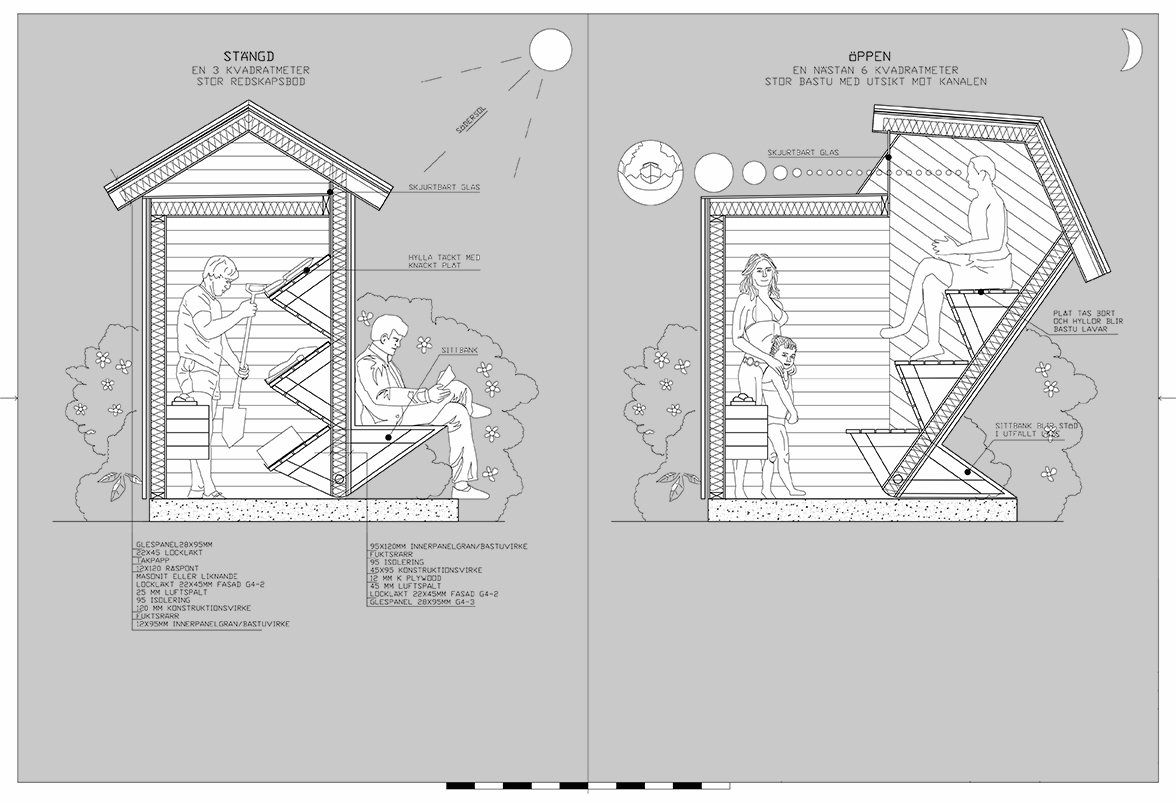 Anders Berensson Architects: FoldOut Sauna