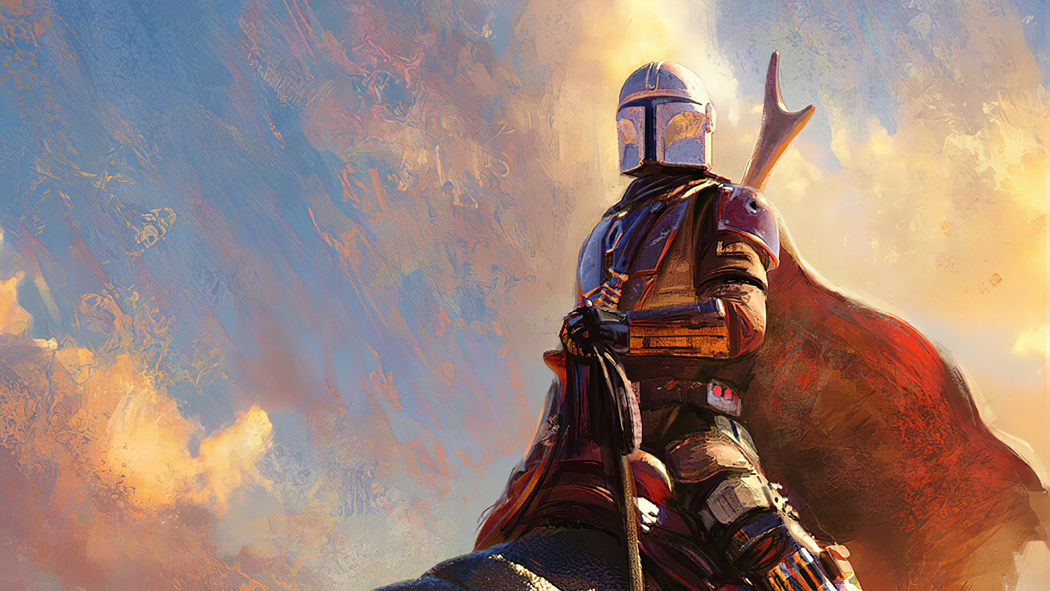 The Mandalorian Hd Wallpaper