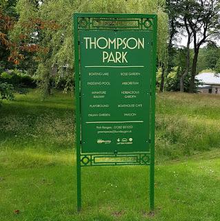 Thompson Park Miniature Railway in Burnley