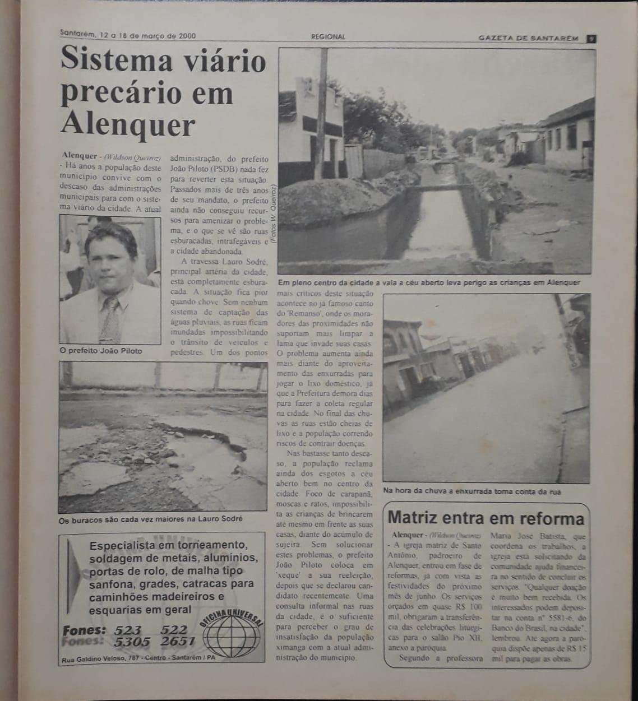 Há 20 anos era publicada a minha primeira reportagem. Por Wildson Queiroz