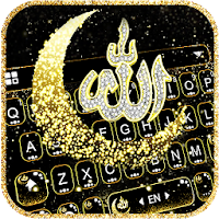 Glitter Allah Keyboard Theme Apk Download for Android