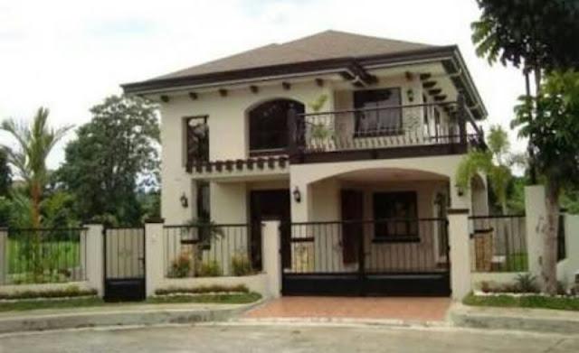 Bentuk Rumah Sederhana tapi Elegan dan Mewah, model rumah sederhana 2 lantai di kampung