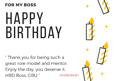 happy birthday card for boss