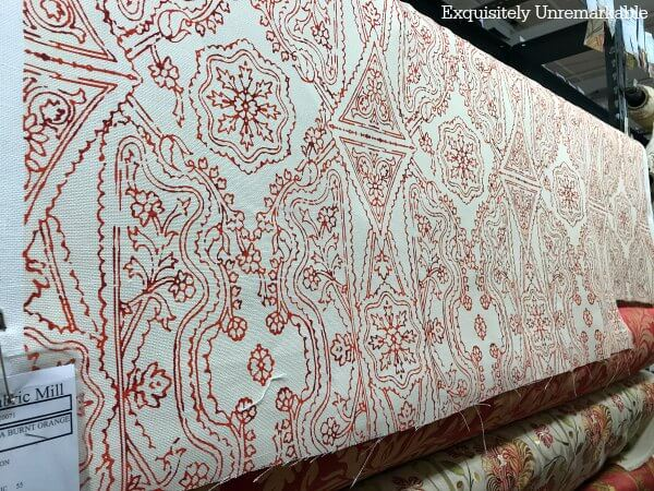 Red Fabric For Kitchen Curtains