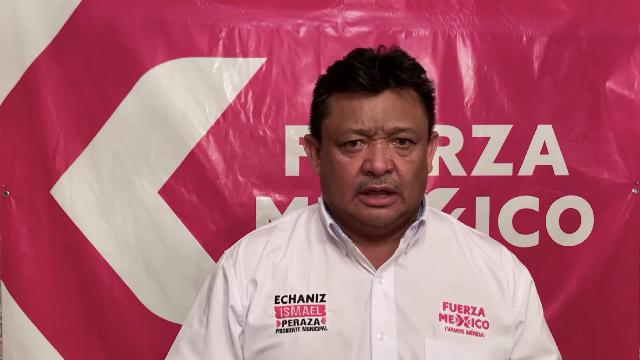"""Acusa Peraza Valdez a RZB y VCD de """"guerra sucia"""""""