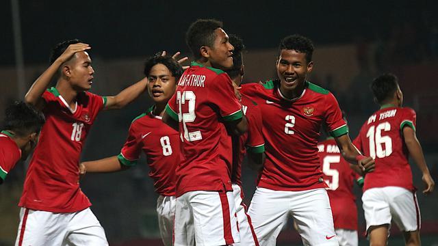 Timnas Indonesia U-16 Bombardir Filipina Dalam  Pertandingan Sepakbola AFC U-16 Filipina Vs Indonesia