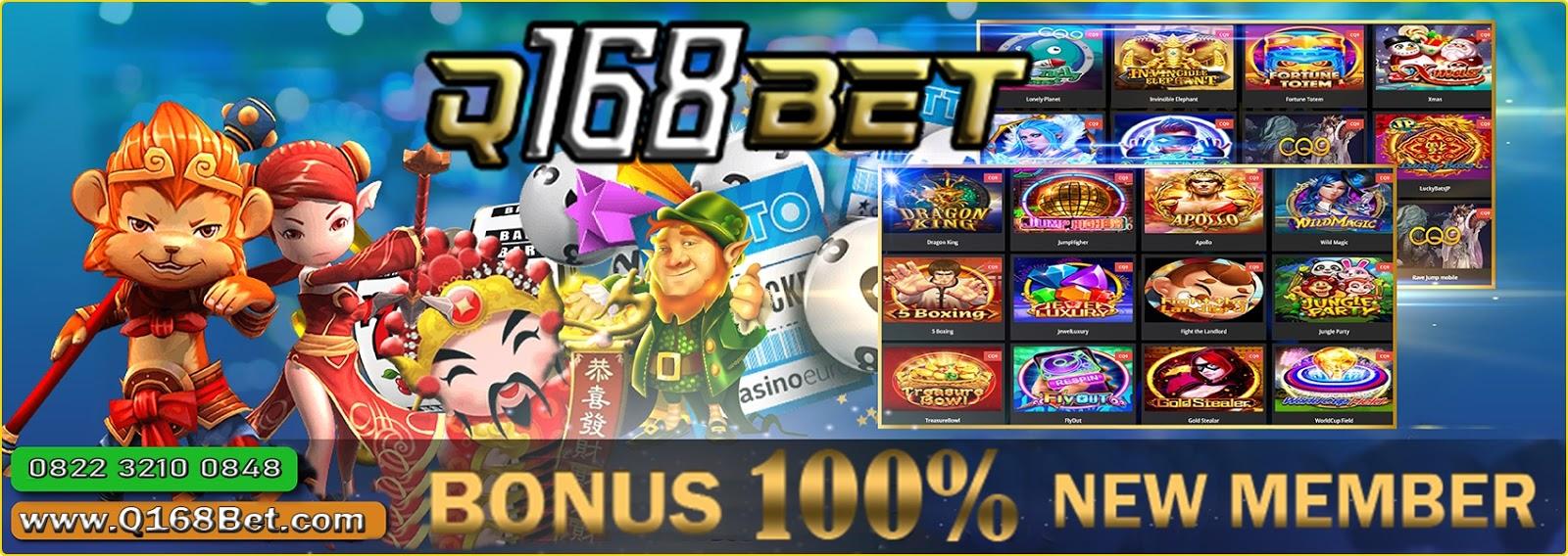 Bonus Member Baru 100 Q168bet Cara Terbaru Mudah Menang Slot Online 2020