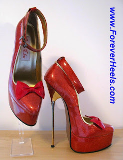 04daed3ccc3 Peter Chu High Heels  GODDESS 20 Extreme high heel pumps with 20cm ...
