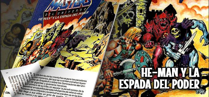 Minicómic He-Man y la Espada del Poder Mattel 1982
