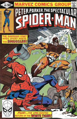Spectacular Spider-Man #49, the Smuggler