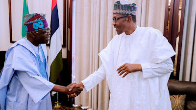 Tinubu Meets Buhari, Insists On Sanwo-Olu Against Ambode