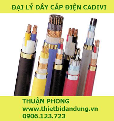 Đại lý dây cáp điện Cadivi tại Tây Ninh 100% giá gốc