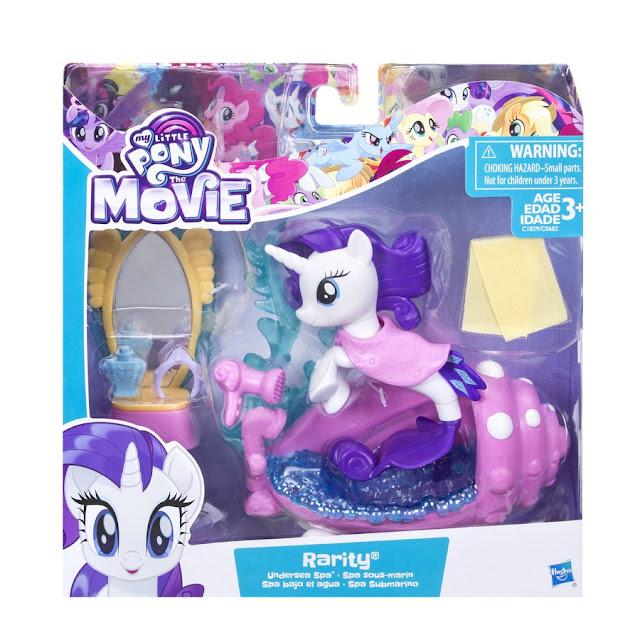 My Little Pony The Movie- Undersea Spa Rarity Set