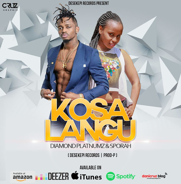 Diamomd Platnumz Ft. Sporah - kosa Langu & (A Boy From Tandale Album).