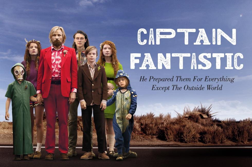 CAPTAIN FANTASTIC - poster de la pelicula