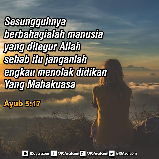 Ayub 5:17