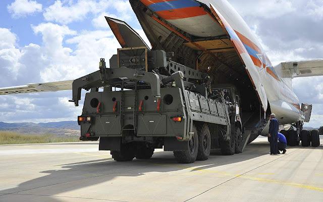 Τουρκία: Άρχισε η παραλαβή των S-400