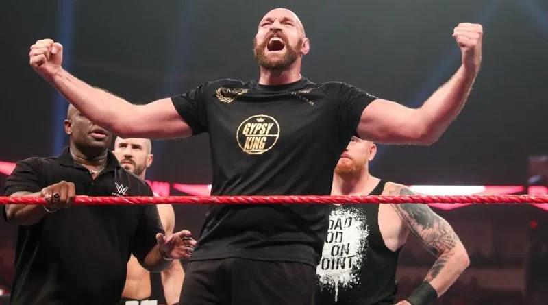 WWE tem interesse em assinar com Tyson Fury