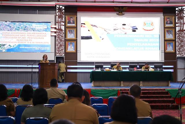 Wawali MOR Buka Rakor Tentang Penerapan Sistim Informasi Pemerintah Daerah (SIPD)
