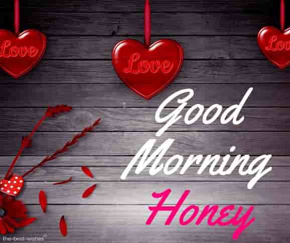 good morning honey wishes