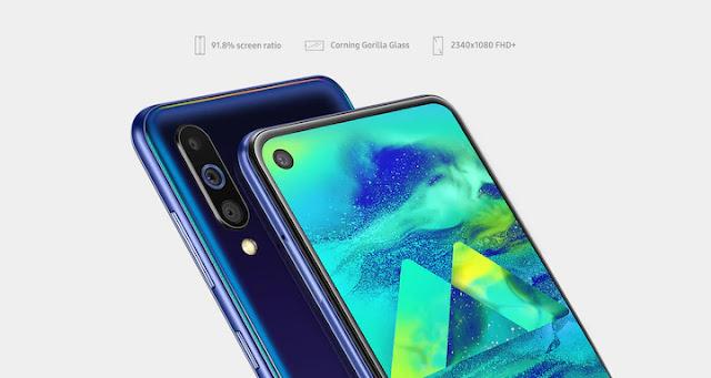 samsung galaxy m40 price, gadnwid, samsung mobiles price