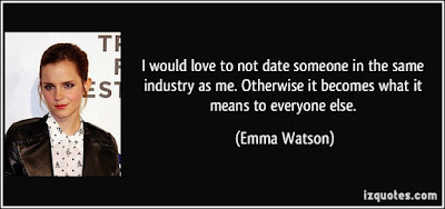 Quotes About Love Dating: I would love to not date someone in the same industry as me.