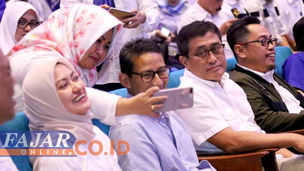 Akui Lahir di Pekanbaru, Sandiaga Uno: Ayah Sulawesi, Ibu Jawa, Saya Sumatera