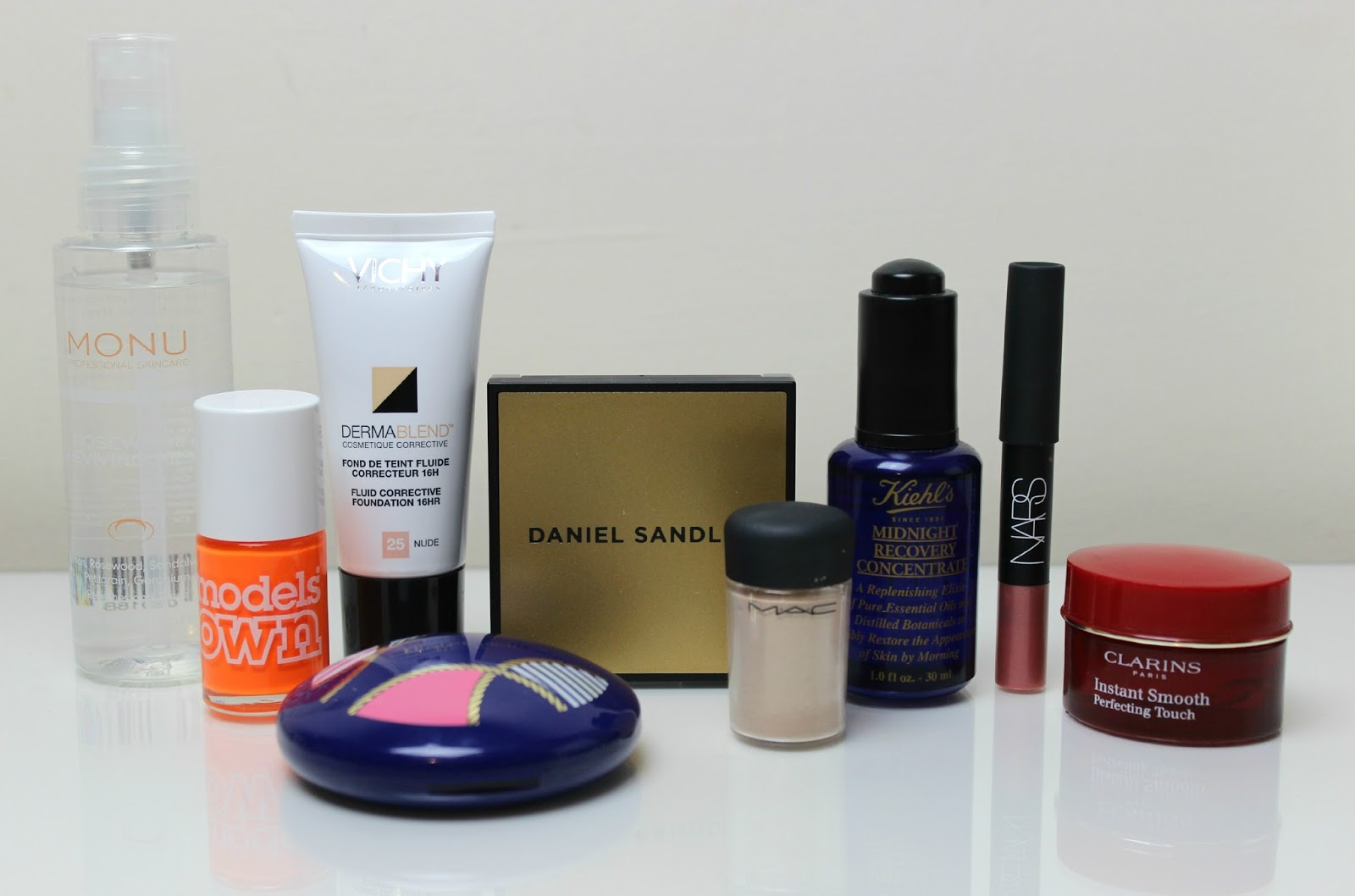 A picture of the best makeup and skincare products of April 2015